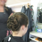 updo by justine 1