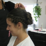 updo by justine 2