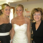 Suzanne with the Bride and her Sister